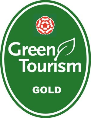 Logo for Green Tourism Business Scheme (GTBS) Gold Award